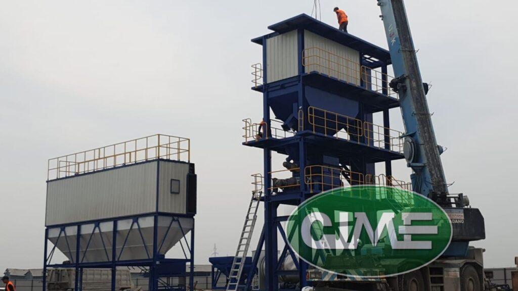 Якутия. Асфальтобетонный завод CJME RD-90 в самом большом регионе в мире!