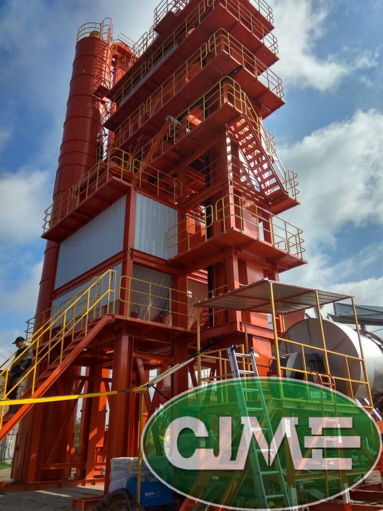 Немного фотографий Асфальтобетонного завода CJME RD125